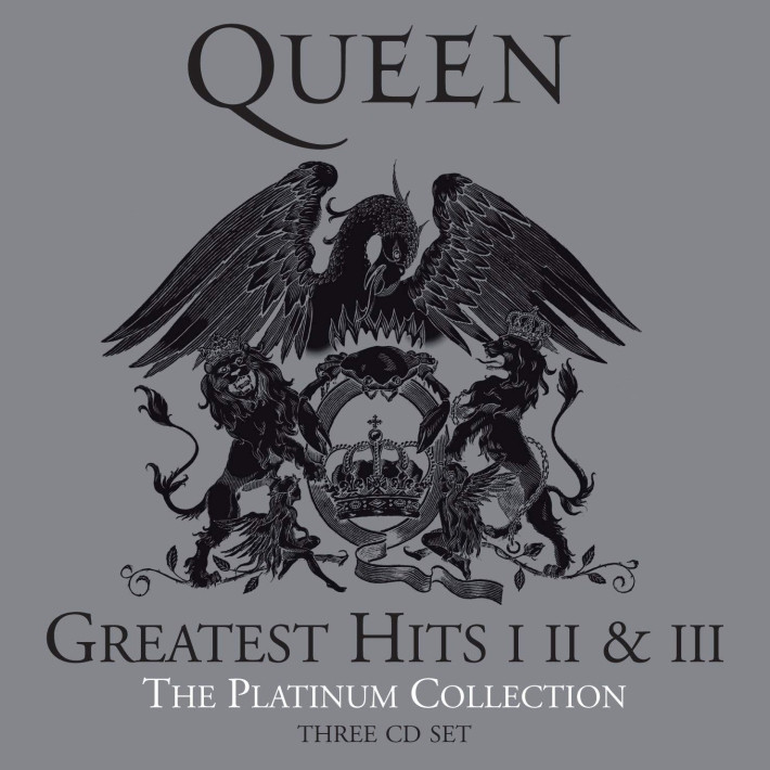 Queen - The platinum collection, 3CD (RE), 2011