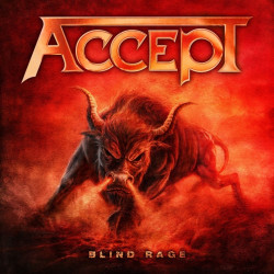 Accept - Blind rage, 1CD, 2014