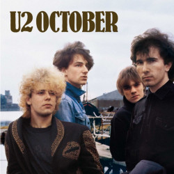U2 - October, 1CD (RE), 2008