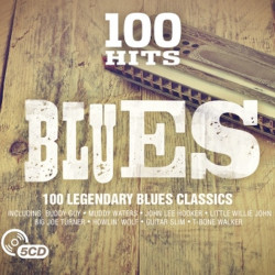 Kompilace - 100 hits-Blues,...